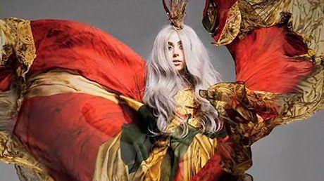 Baby Gaga Shines in a Fashion Shoot