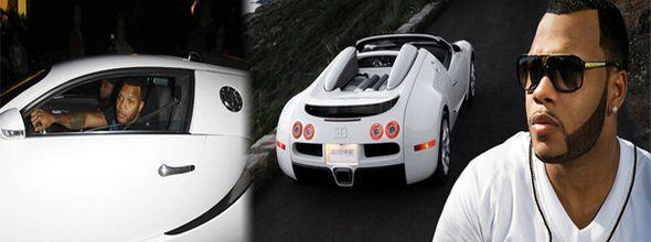 Flo Rida Impresses Everybody with His Car
