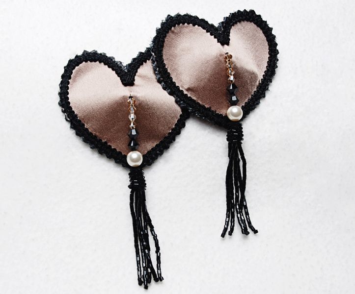 Latte Beaded Tassels_0
