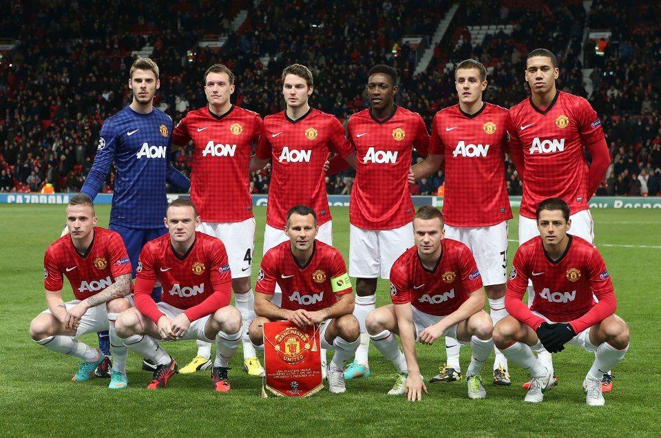 Manchester+United+2012-2013+squad+wallpaper