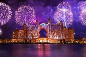 Opening of the Atlantis Hotel in Dubai