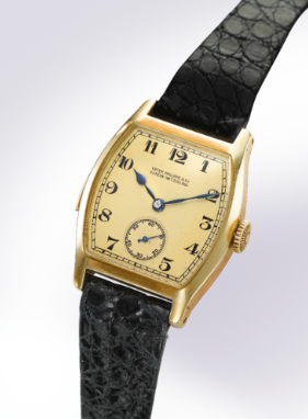 Patek Philippe 1927 Yellow Gold Minute Repeating Wristwatch