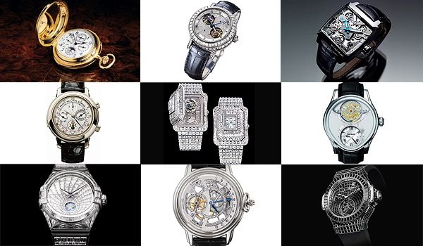 The Top Ten Most Expensive Watches in the World