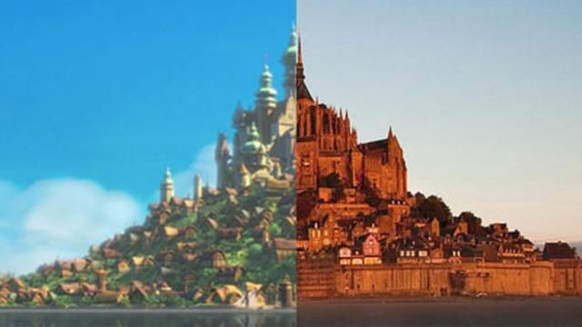 10 Popular Disney Movie Locations That Actually Exist In Real Life!